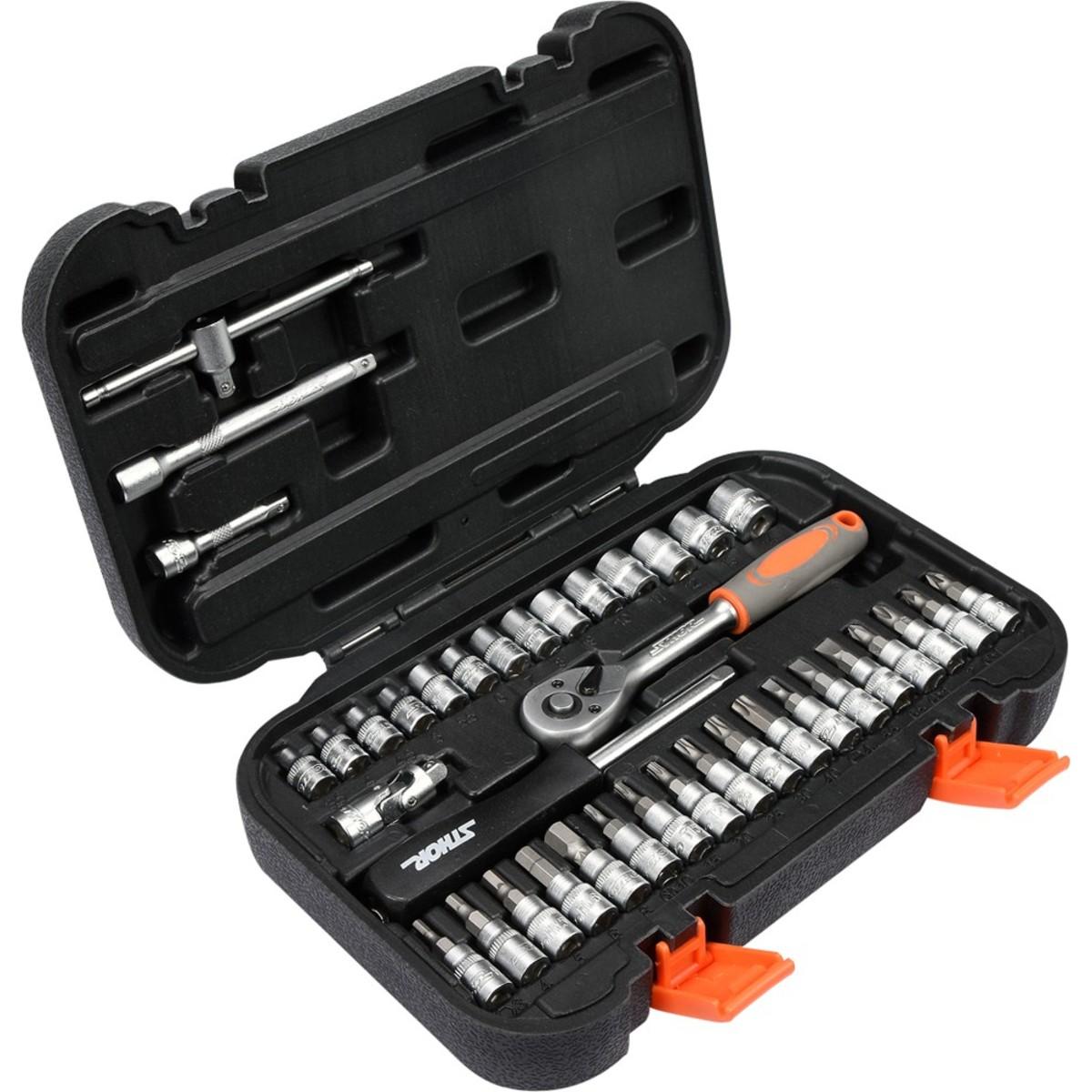 Набор ручного инструмента STHOR 58640