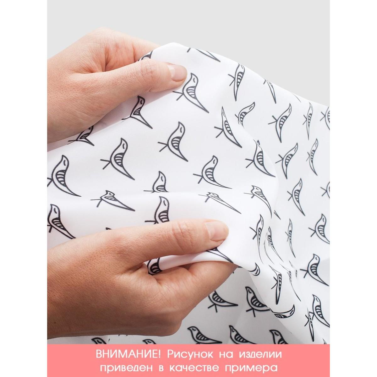 Шторка для ванной Ambesonne Военный вертолет 180х200 см