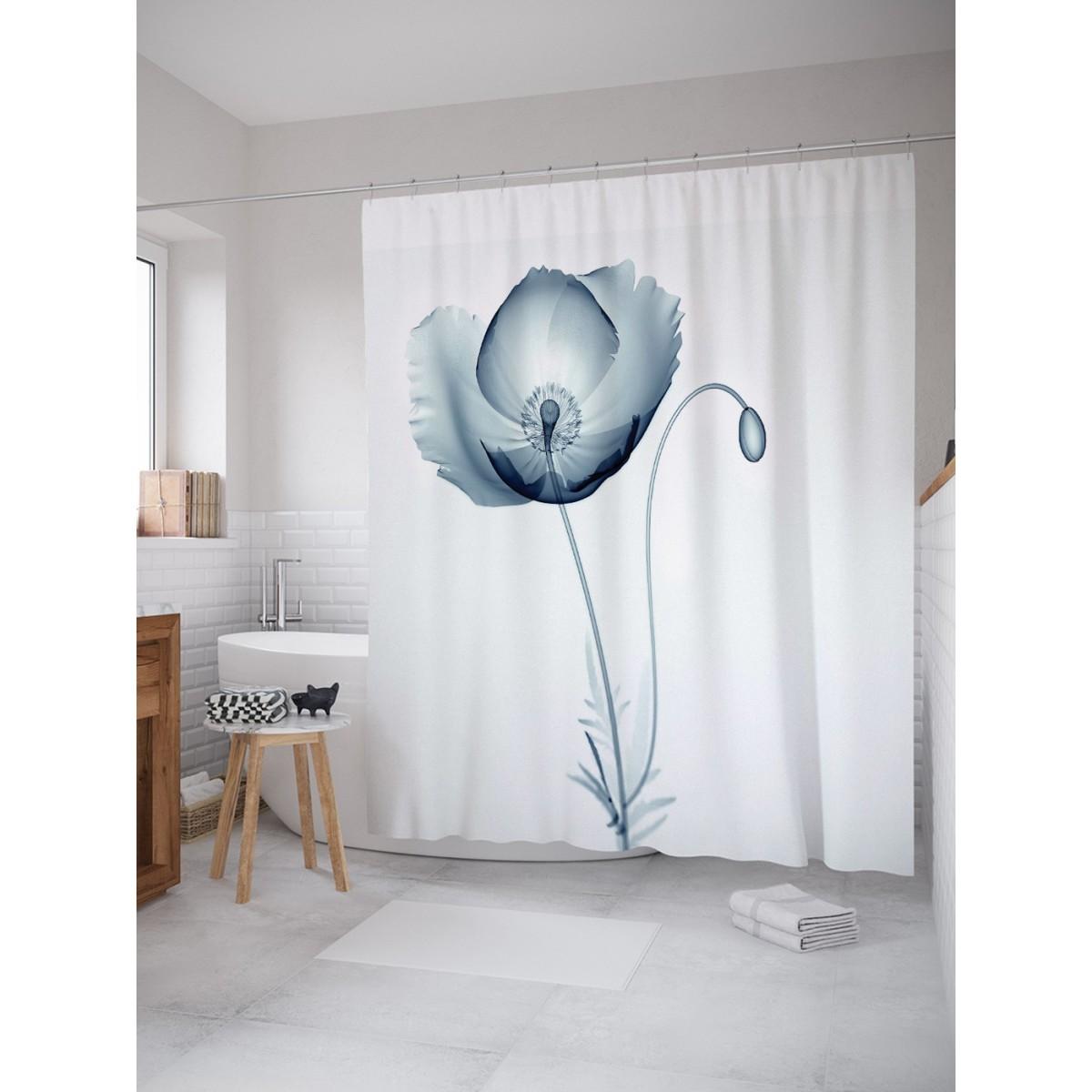 Шторка Для Ванной Цветок Рвущийся На Свободу 180Х200