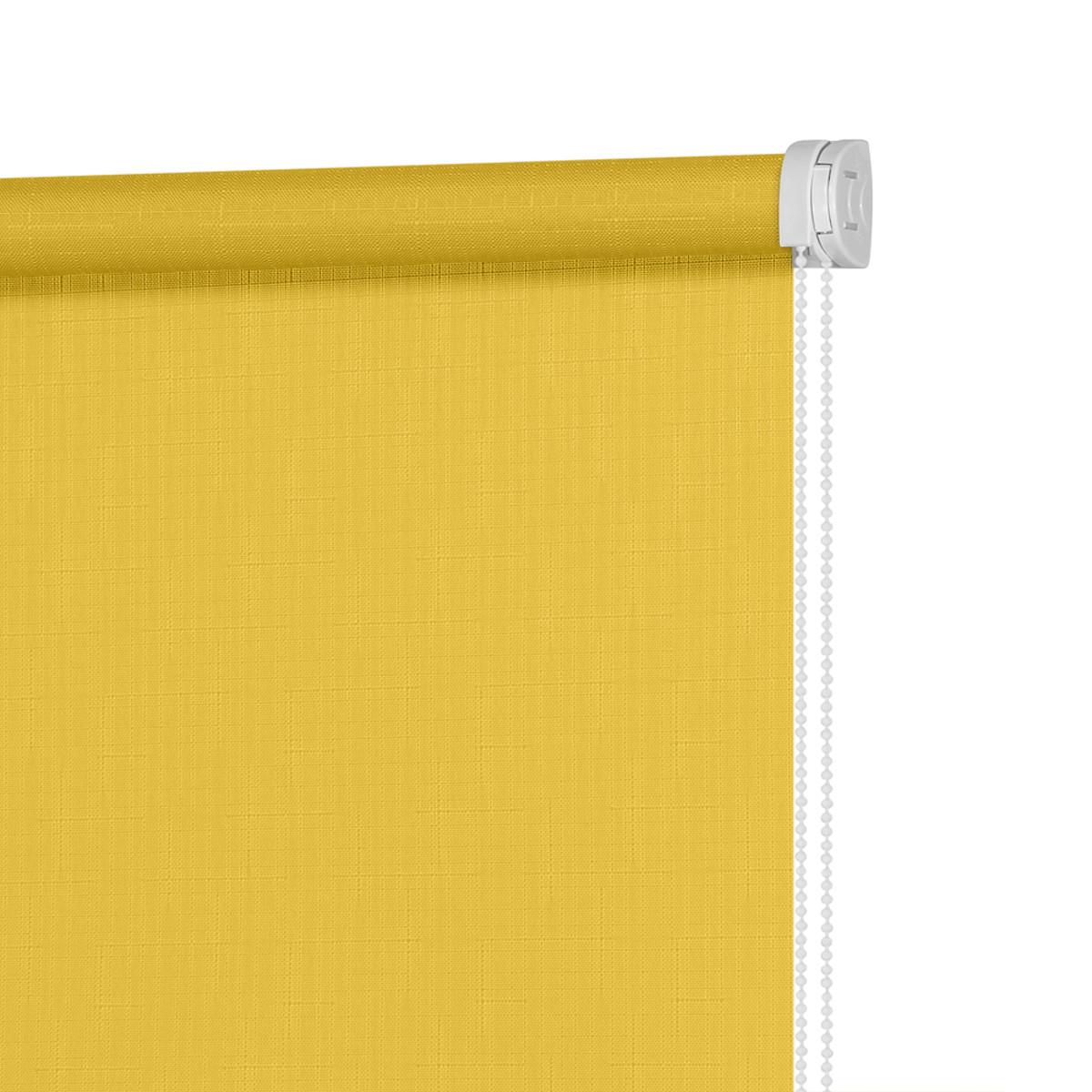 Рулонная Ора Decofest Апилера 90Х160 Цвет Желтый