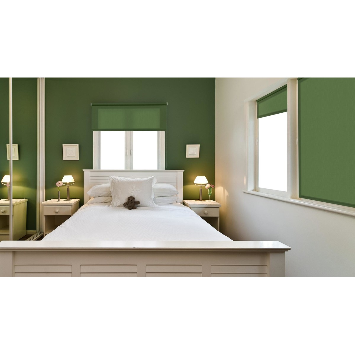 Рулонная Ора Decofest Апилера 80Х160 Цвет Зеленый