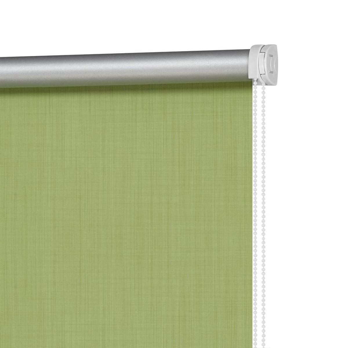 Рулонная Ора Decofest Блэкаут Селия 120Х160 Цвет Зеленый