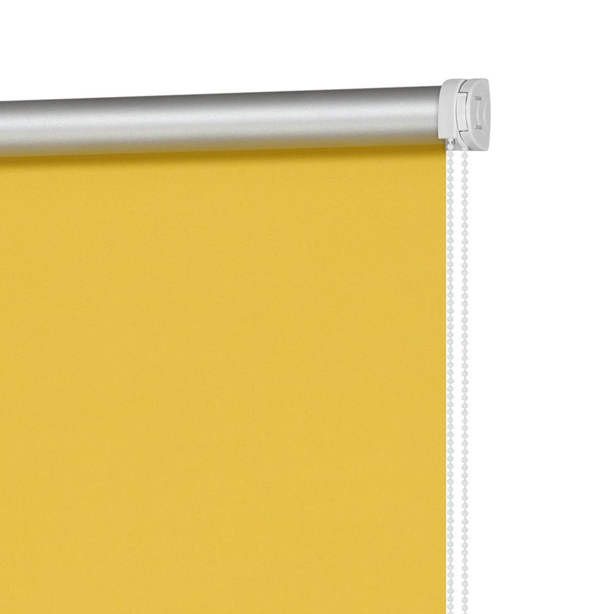 Рулонная Ора Decofest Блэкаут Плайн 100Х160 Цвет Желтый