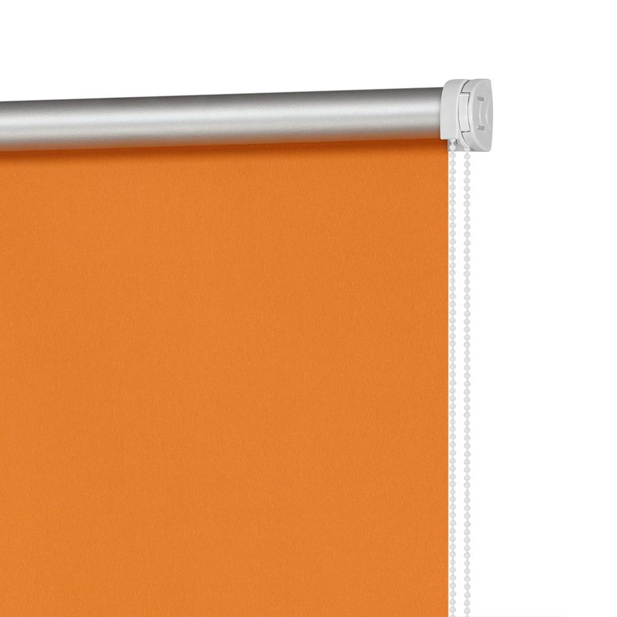 Рулонная Ора Decofest Блэкаут Плайн 60Х160 Цвет Оранжевый