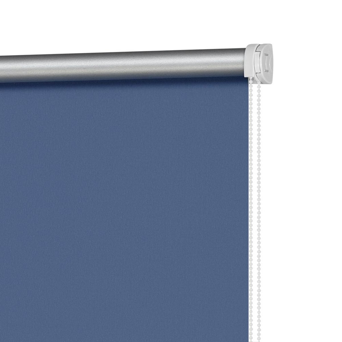 Рулонная Ора Decofest Блэкаут Плайн 60Х160 Цвет Синий
