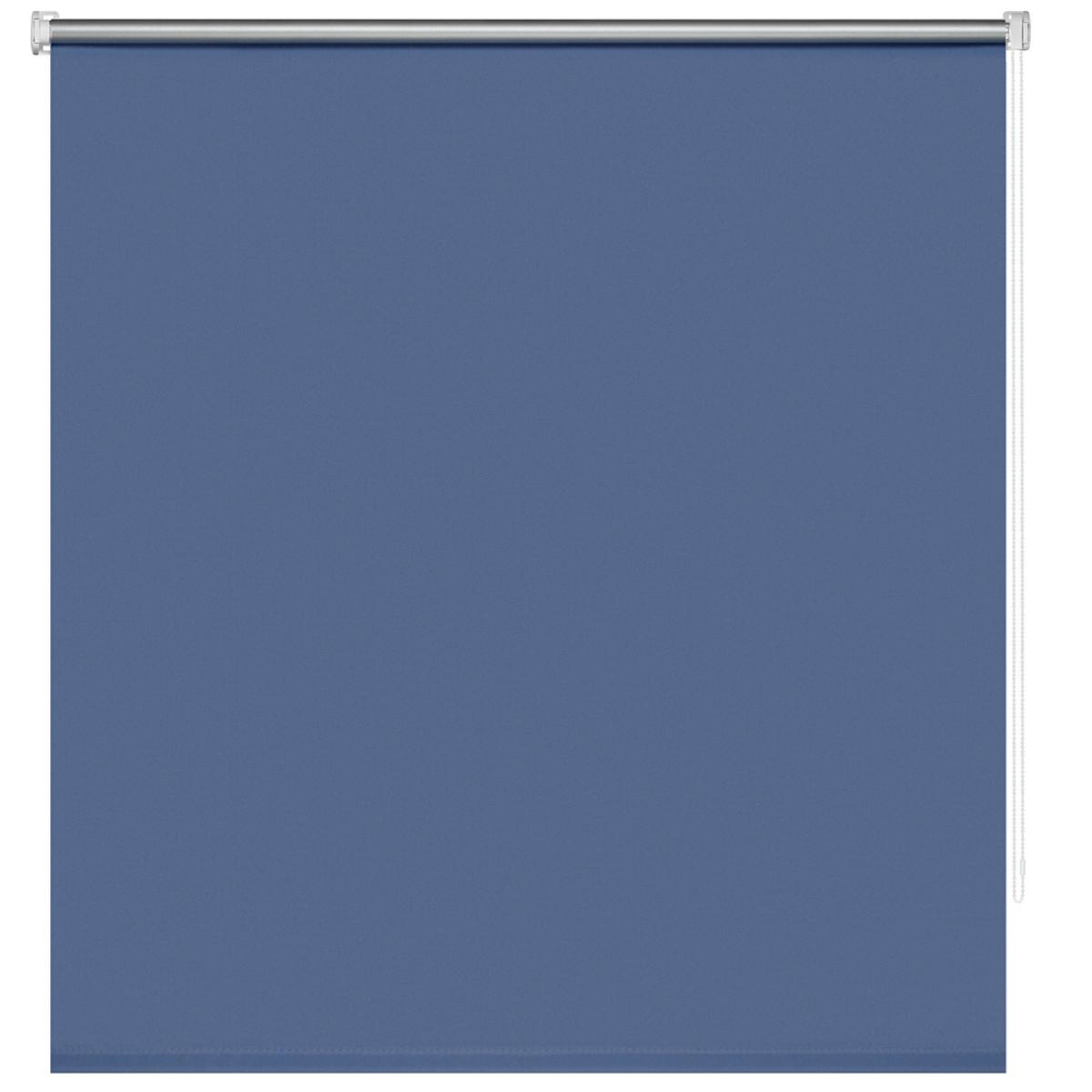 Рулонная Ора Decofest Блэкаут Плайн 120Х160 Цвет Синий