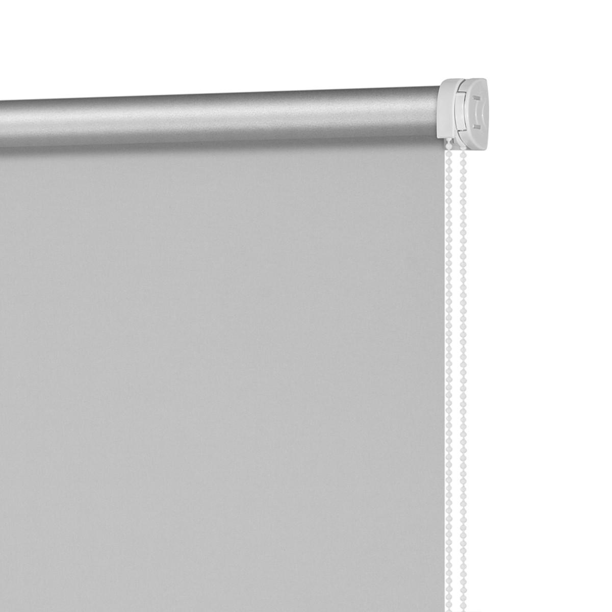 Рулонная Ора Decofest Блэкаут Плайн 60Х160 Цвет Серый