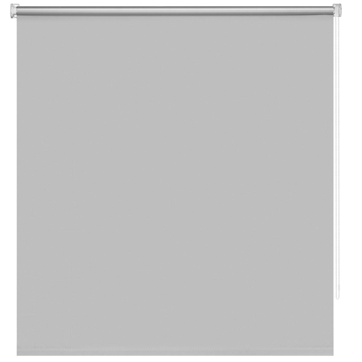 Рулонная Ора Decofest Блэкаут Плайн 120Х160 Цвет Серый