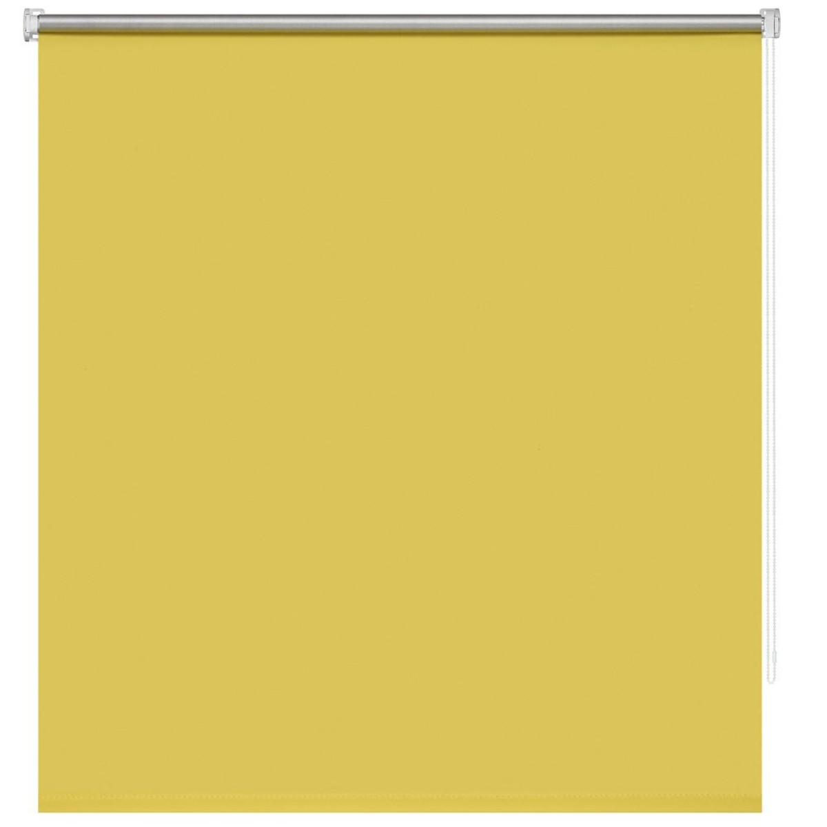 Рулонная Ора Decofest Блэкаут Плайн 50Х160 Цвет Желтый