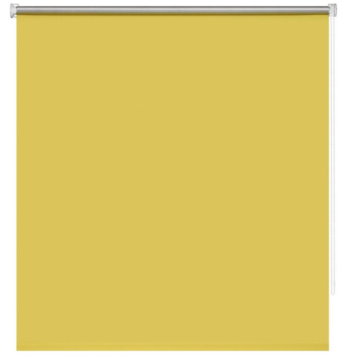 Рулонная Ора Decofest Блэкаут Плайн 60Х160 Цвет Желтый