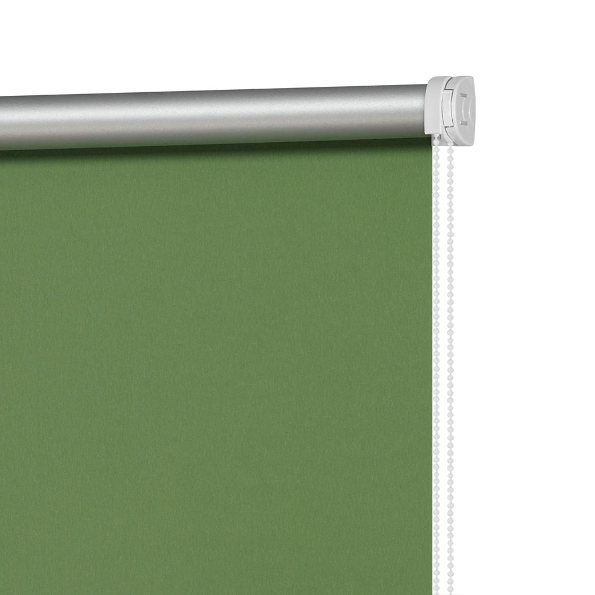 Рулонная Ора Decofest Блэкаут Плайн 120Х160 Цвет Зеленый