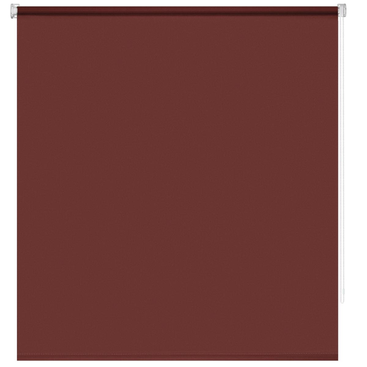 Рулонная Ора Decofest Плайн 120Х160 Цвет Бордовый