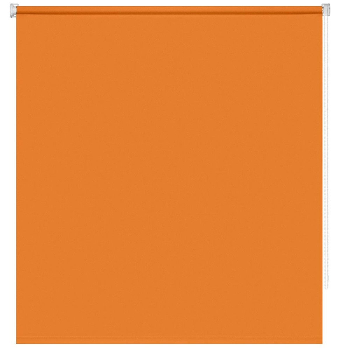Рулонная Ора Decofest Плайн 120Х160 Цвет Оранжевый