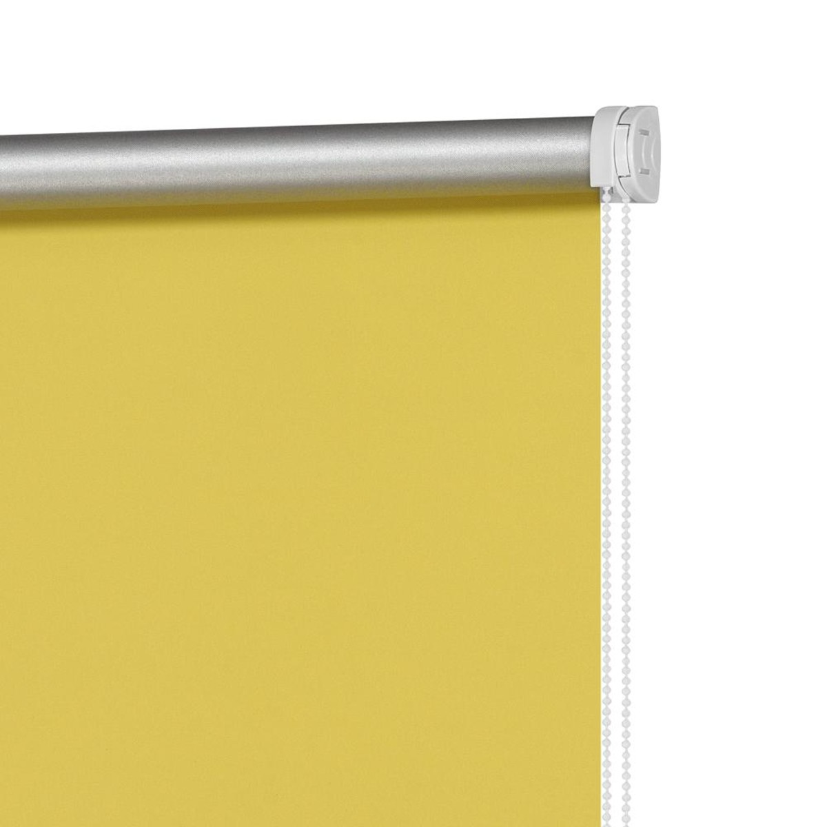 Рулонная Ора Decofest Плайн 100Х160 Цвет Желтый