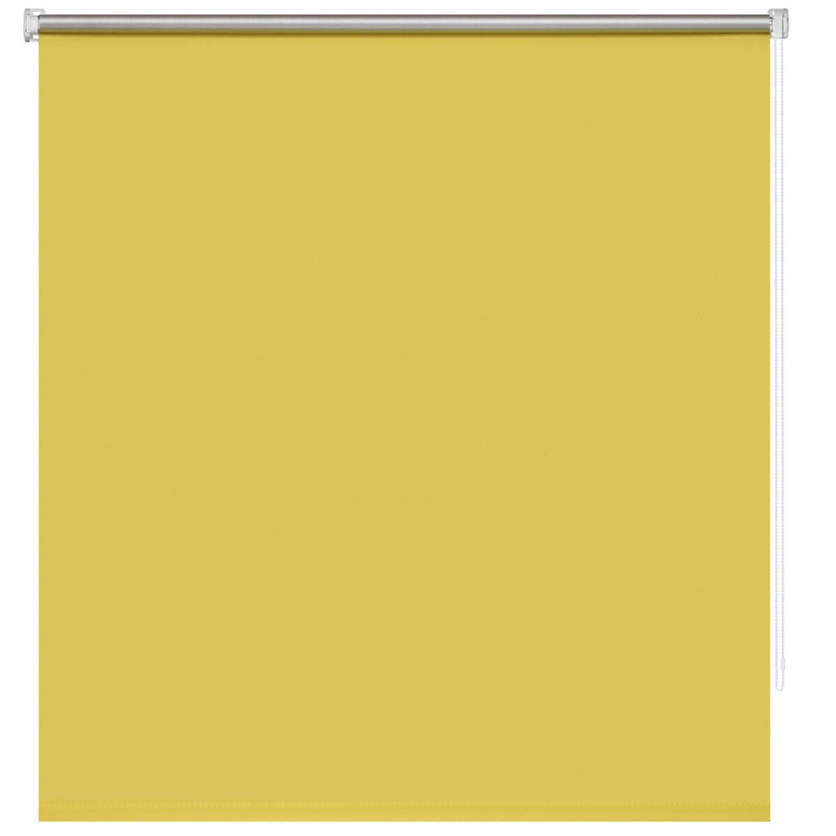 Рулонная Ора Decofest Плайн 120Х160 Цвет Желтый