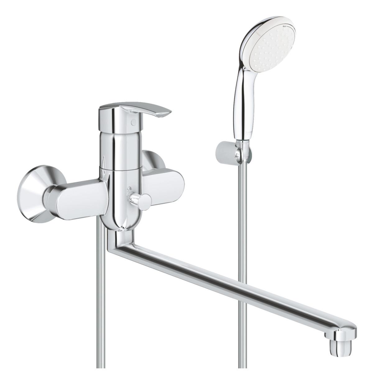 Смеситель для ванны GROHE 3270800AGr Multiform