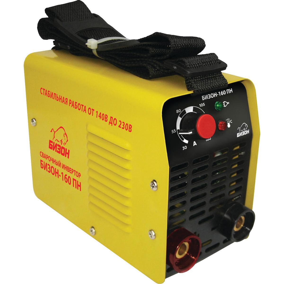 Дуговой Сварочный Инвертор Бизон Бизон-160Пн Бизон-160Пн+Набор/Oz