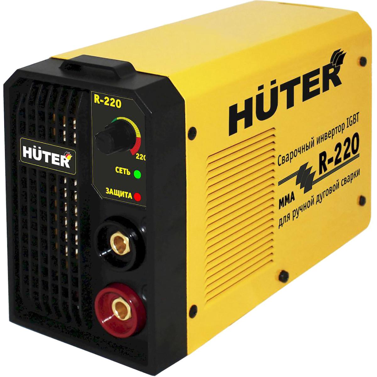 Дуговой сварочный инвертор HUTER R-220 65/48