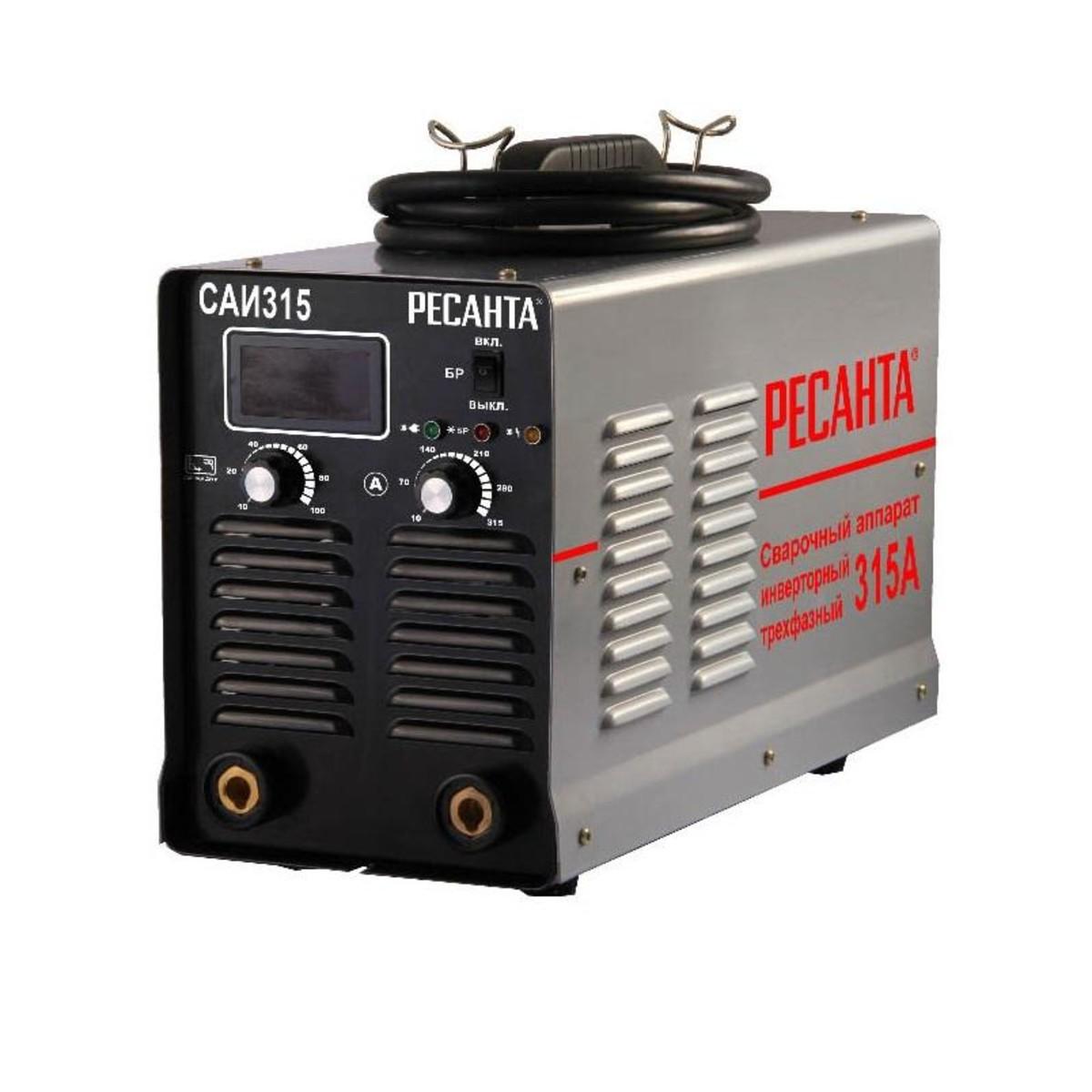 Дуговой Сварочный Инвертор Ресанта Саи 315 65/25