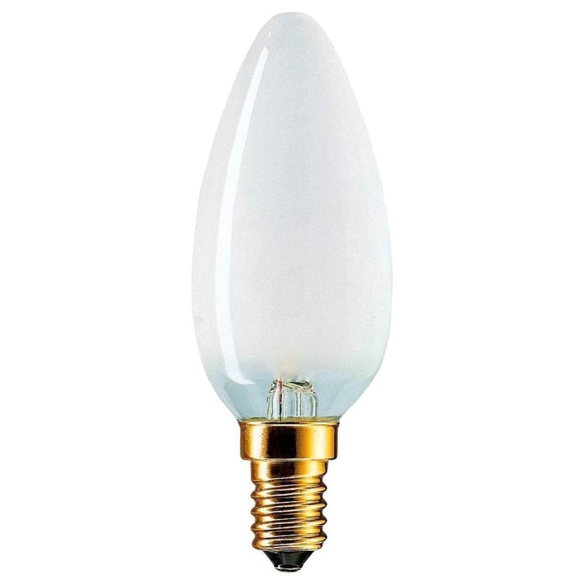Лампа накаливания Philips C0018396 E14 390 Лм теплый свет