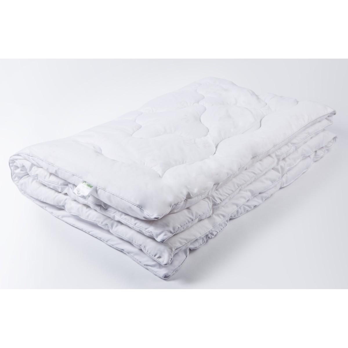 Одеяло Ecotex Лебяжий пух Комфорт 172х205 см пух искусственный