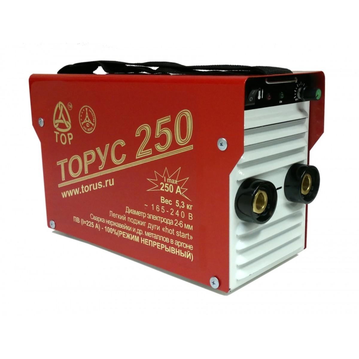 Дуговой Сварочный Инвертор Торус 250 Накс + Комплект Проводов 95566029