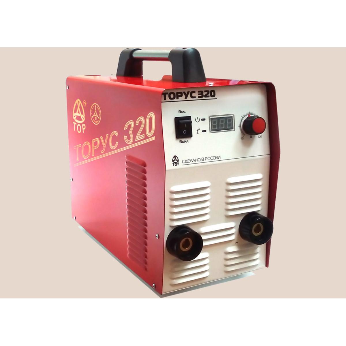 Дуговой Сварочный Инвертор Торус 320 + Комплект Проводов 95566037