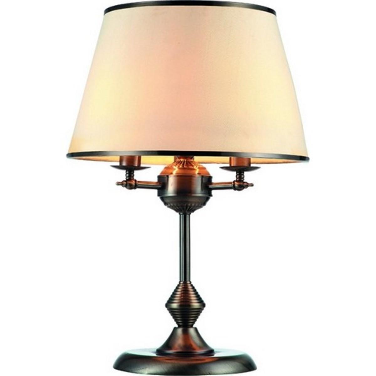 Лампа настольная Arte Lamp Alice A3579LT-3AB цвет бежевый
