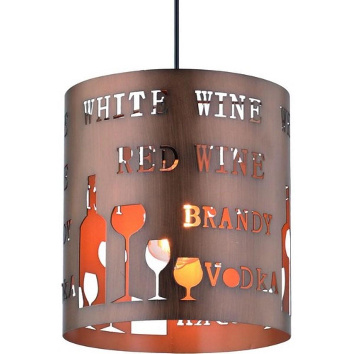 Люстра Arte Lamp Caffetteria A1223SP-1BR E27 1 лампа