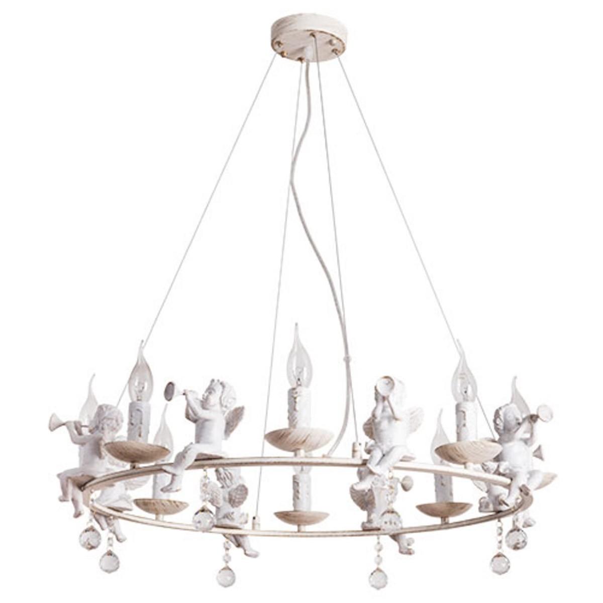 Люстра Arte Lamp Amur A1133SP-8WG E14 8 ламп