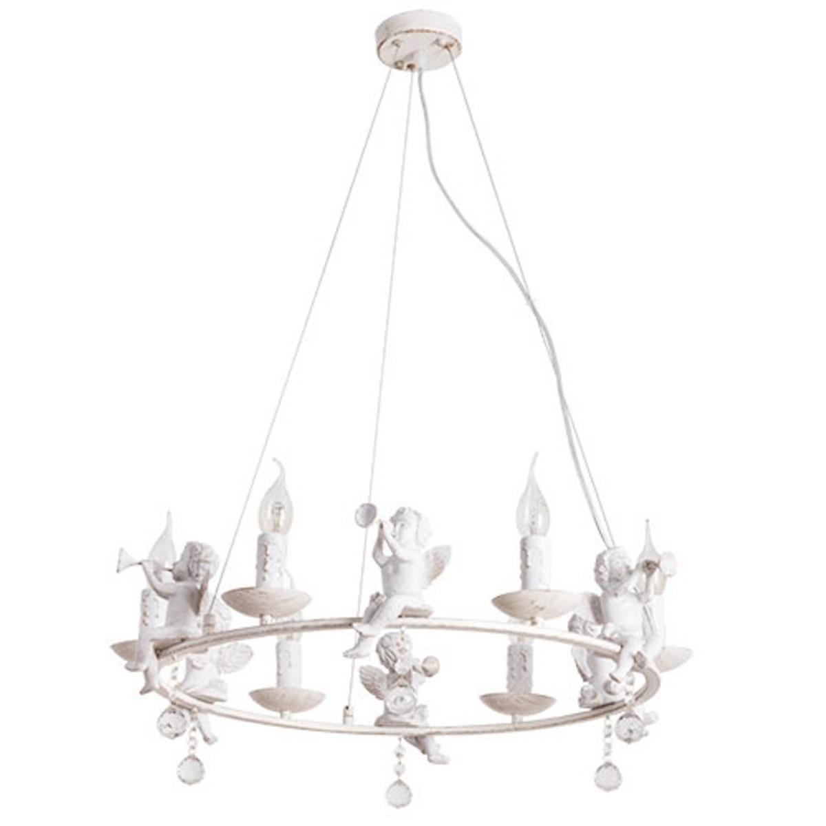 Люстра Arte Lamp Amur A1133SP-6WG E14 6 ламп