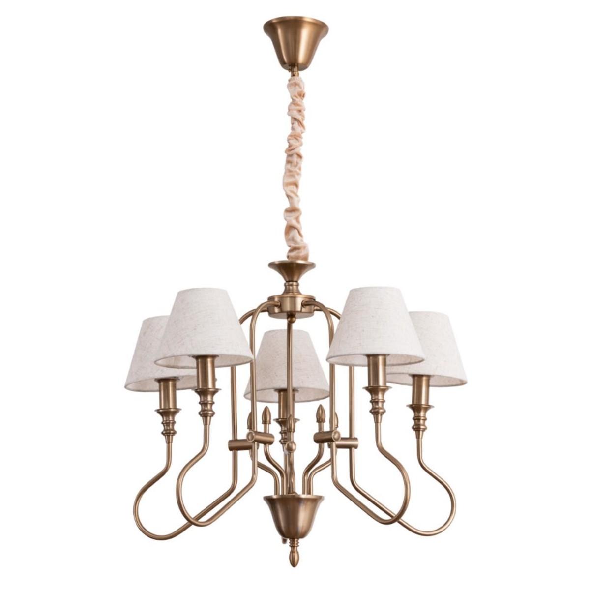 Люстра Arte Lamp Agio A6086LM-5PB E14 5 ламп