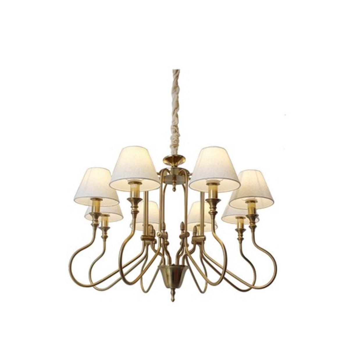 Люстра Arte Lamp Agio A6086LM-8PB E14 8 ламп