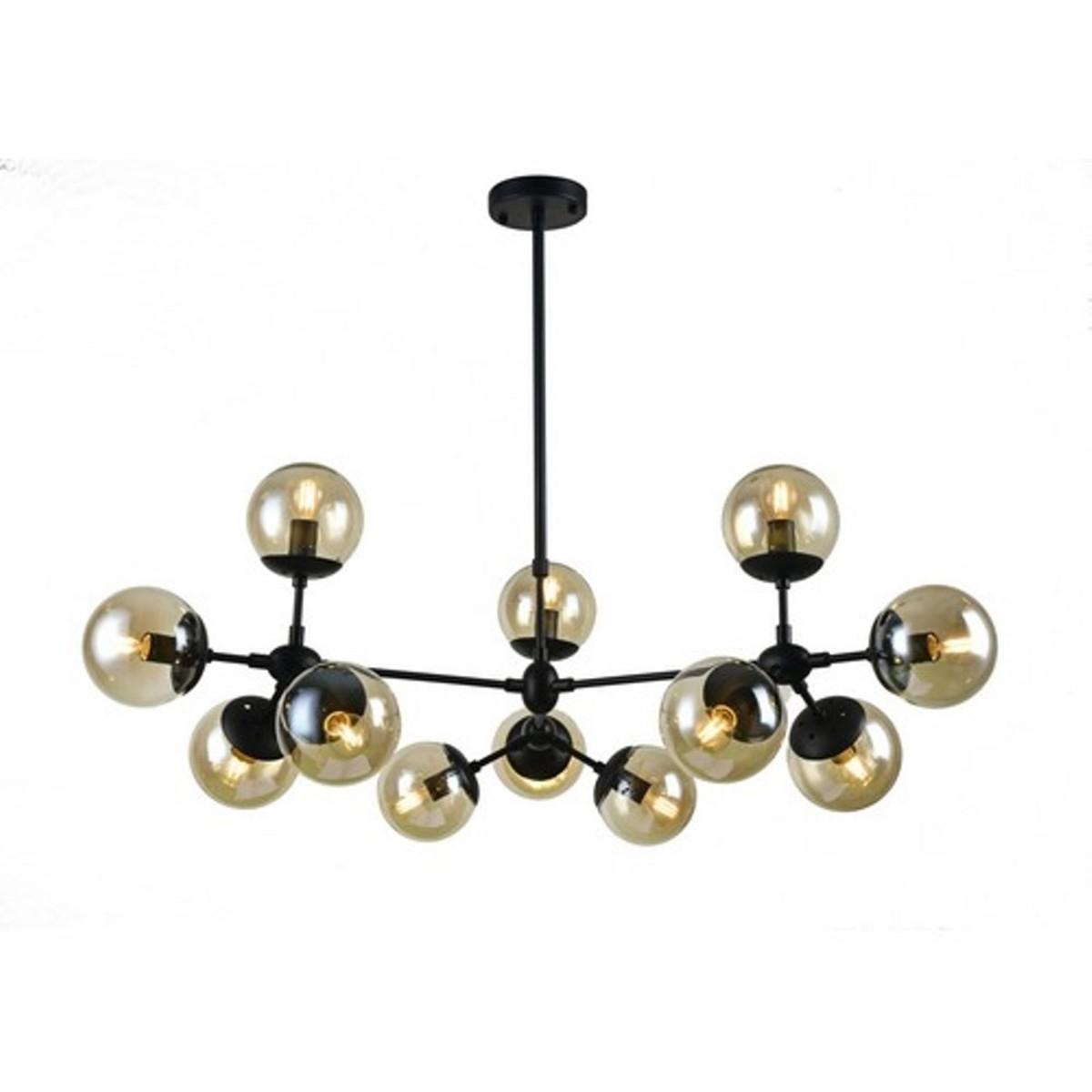 Люстра Arte Lamp Bolla A1664SP-12BK E14 12 ламп