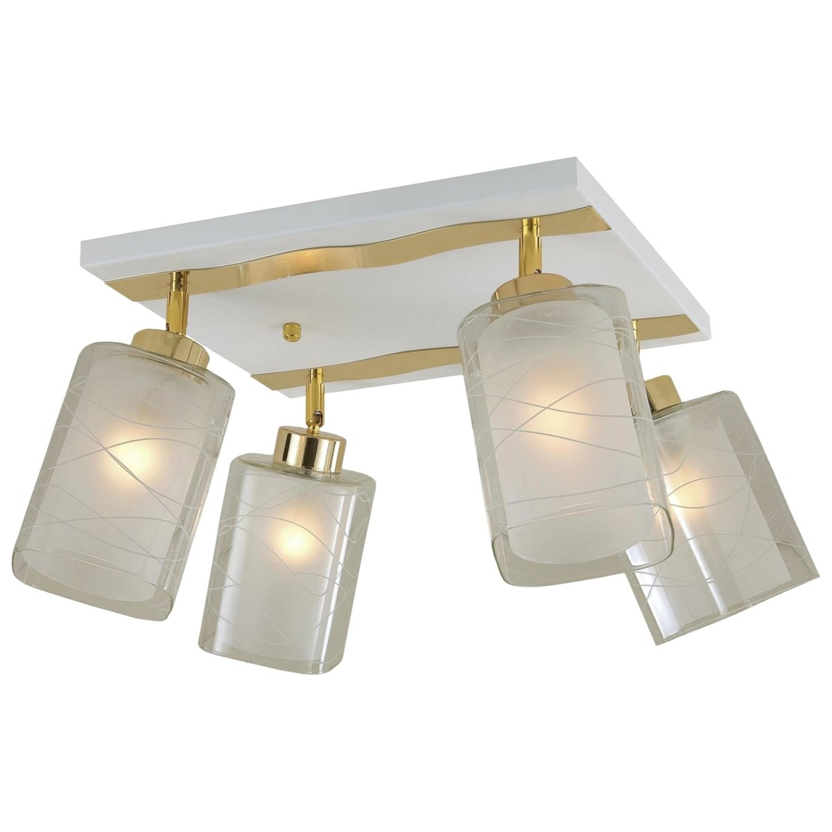Люстра Citilux Прима Cl160142 E27 4 Лампы 14 М²