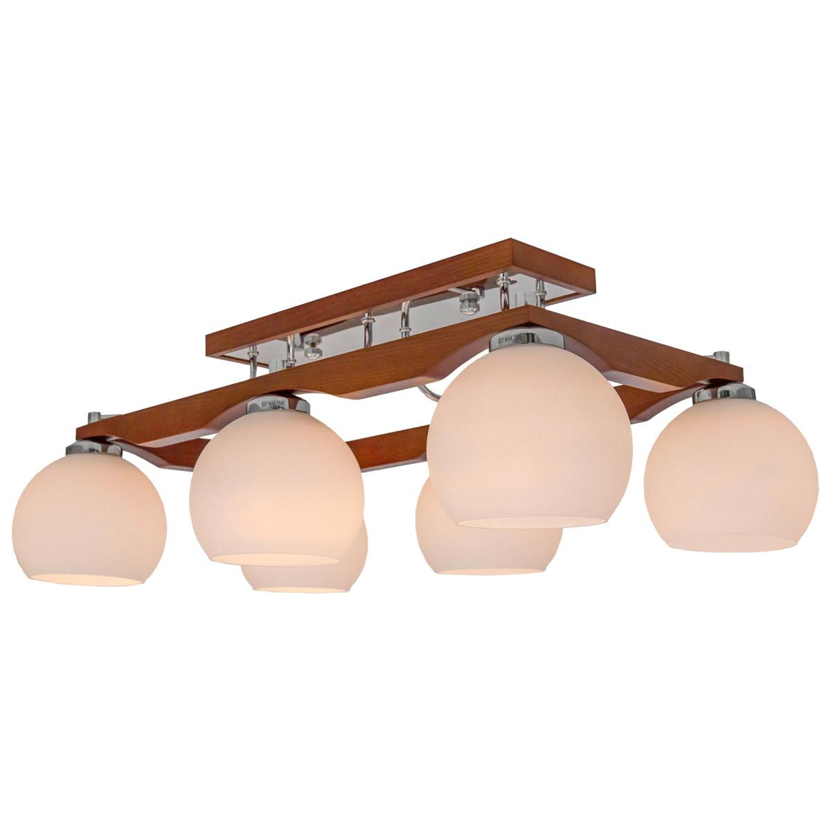 Люстра Citilux Ариста CL164361 E27 6 ламп 21 м²