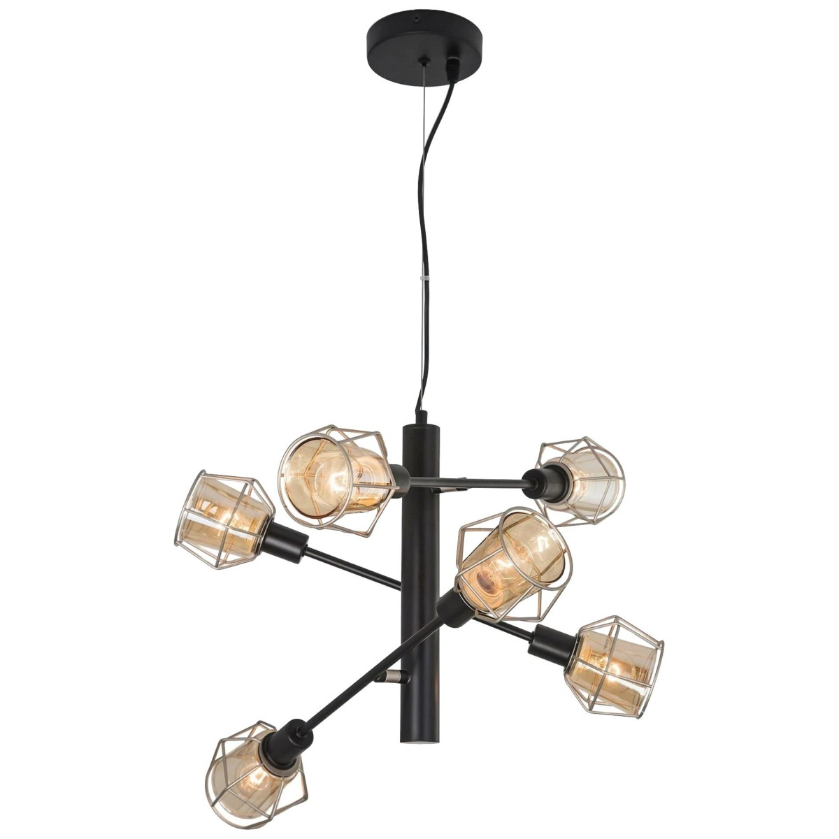 Люстра Citilux Таверна Cl542161 E14 6 Ламп 17 М²