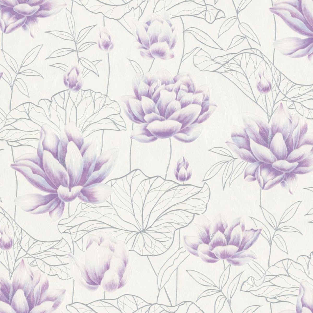 Обои флизелиновые Палитра Laos фиолетовые PL71567-16 1.06 м