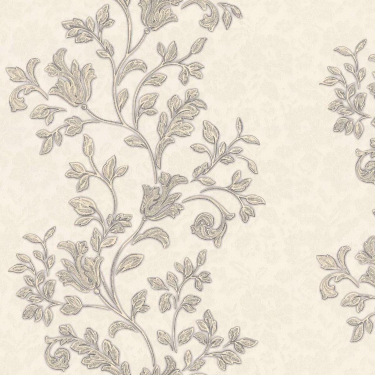 Обои флизелиновые Палитра Flandre белые PL71561-11 1.06 м