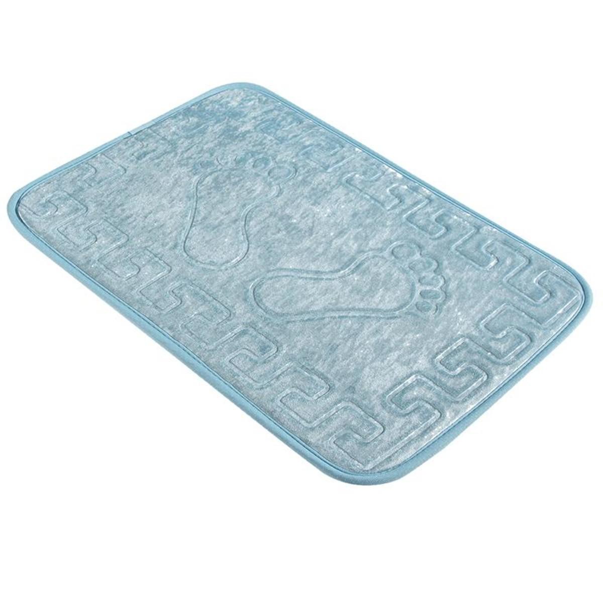 Коврик для ванной Aqua-Prime Foot 40Х60см (Голубой) 1/70