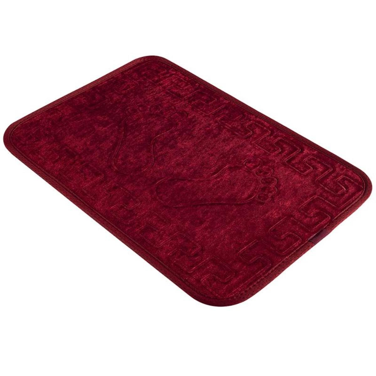 Коврик для ванной Aqua-Prime Foot 40Х60см (Красный) 1/70