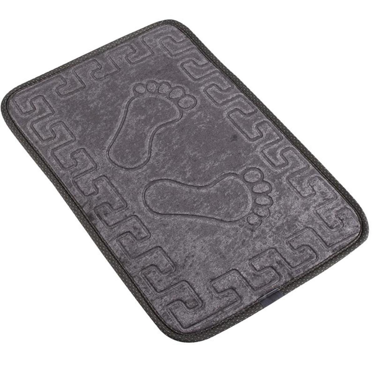Коврик для ванной Aqua-Prime Foot 40Х60см (Серый) 1/70