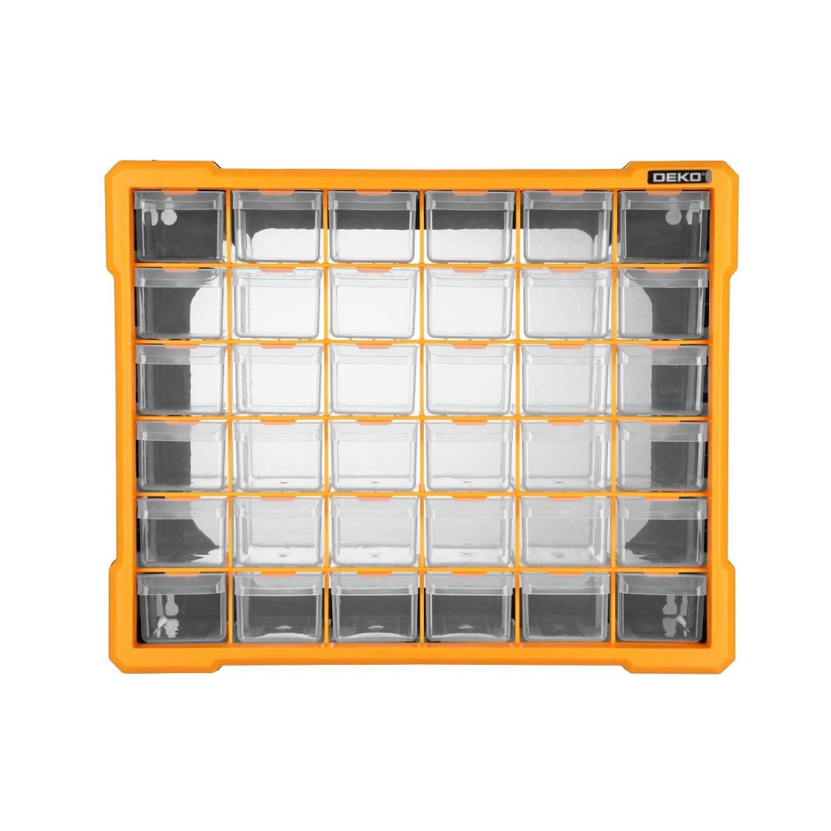 Ящик для инструментов DEKO 36 ячеек