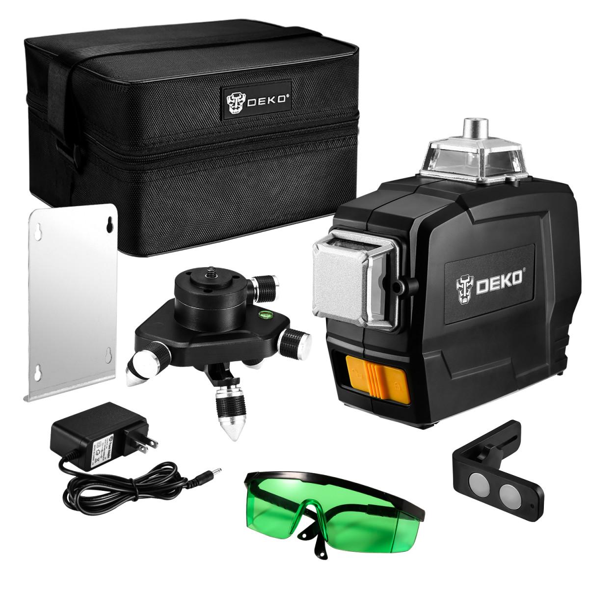 Лазерный уровень Deko DKLL12PG1 065-0278