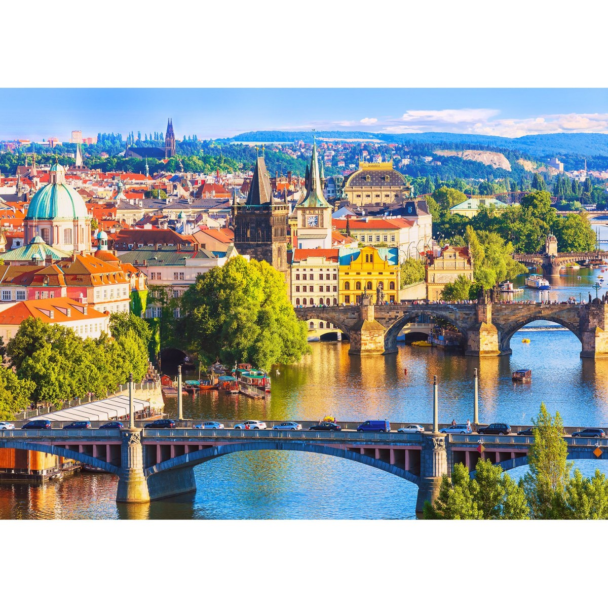 Фотообои МИР Прага MIR-2021-V4 380х270 см