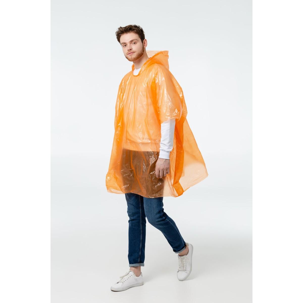 Дождевик-Пончо Rainproof Оранжевый