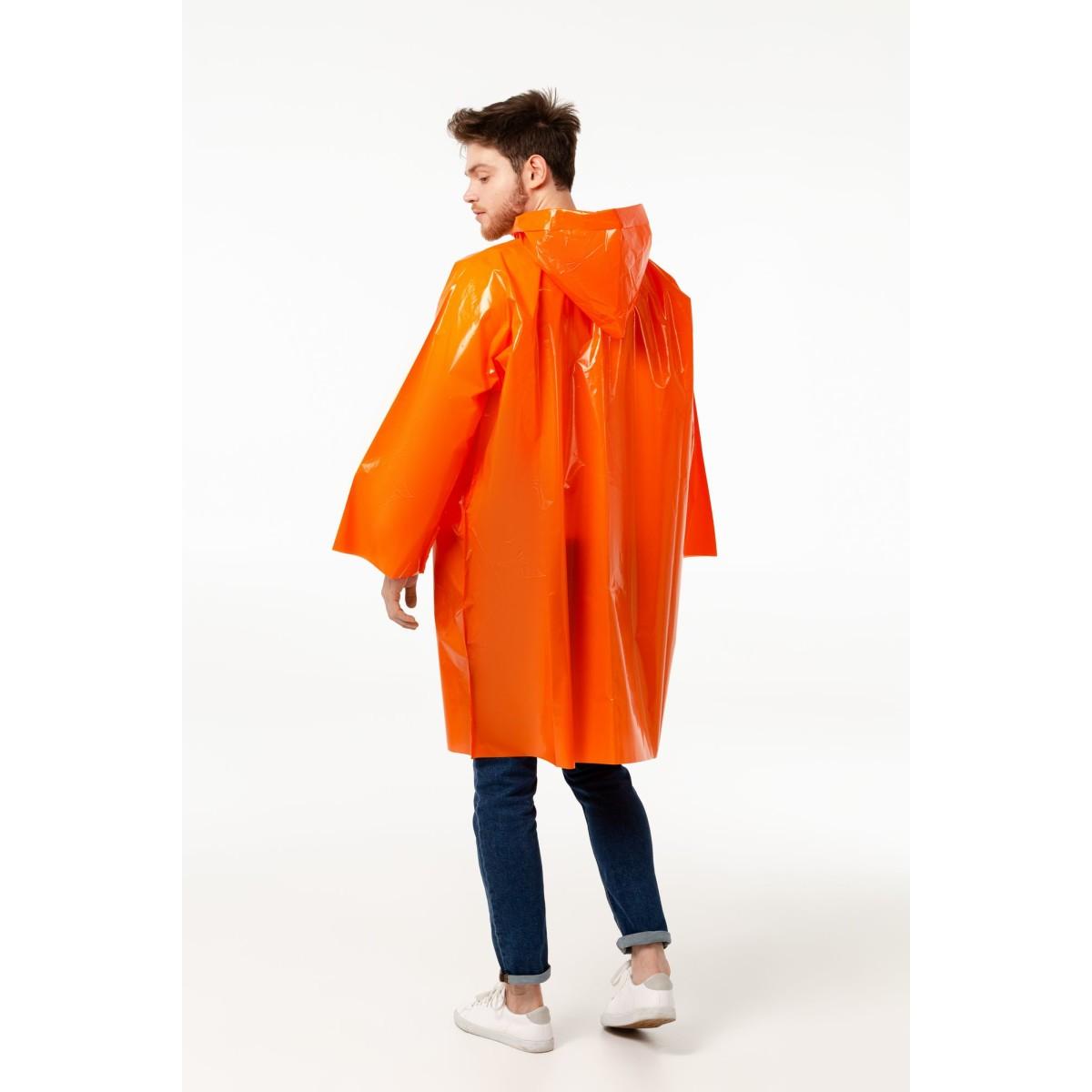 Дождевик-Плащ Cloudtime Оранжевый