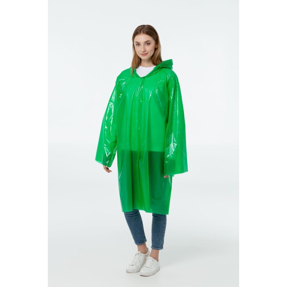 Дождевик-плащ BrightWay зеленый