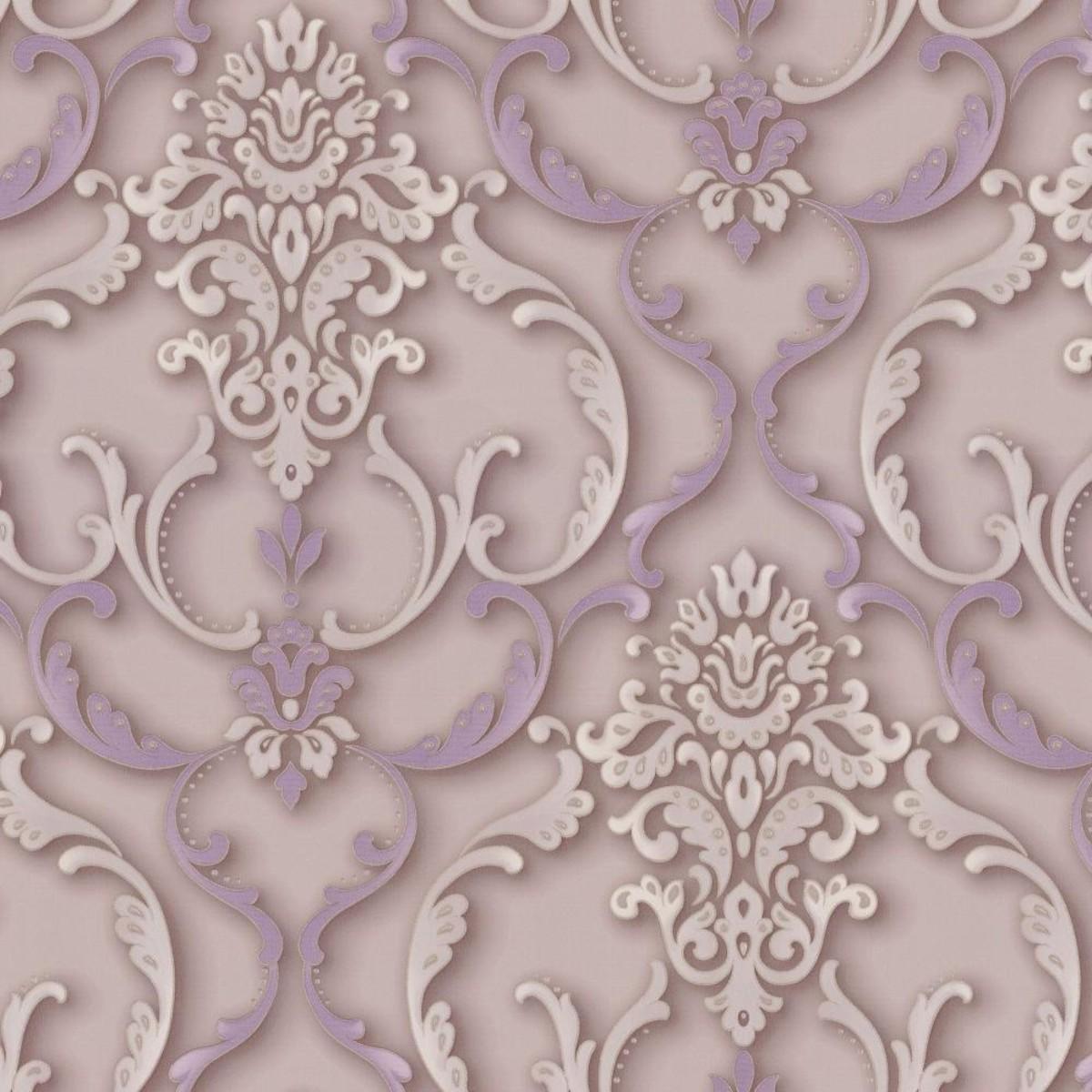 Обои флизелиновые Home Color Kingly фиолетовые HC71053-56 1.06 м