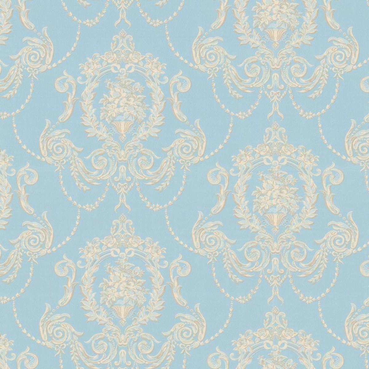 Обои флизелиновые Home Color Collier синие HC71423-16 1.06 м